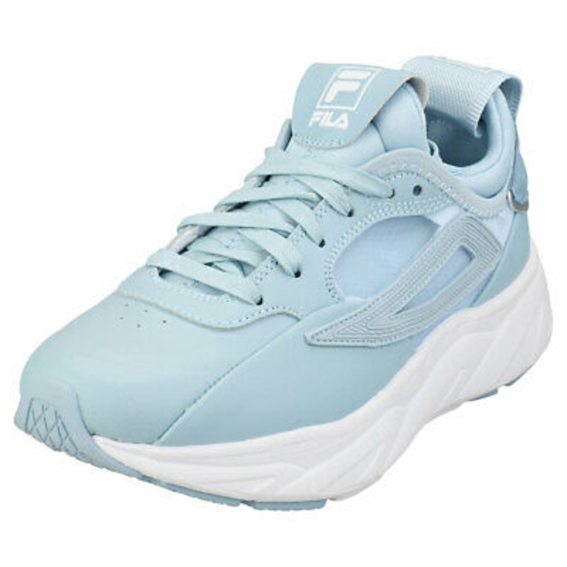 Giày thể thao Fila Amore Womens Blue White Leather & Textile Fashion Trainers