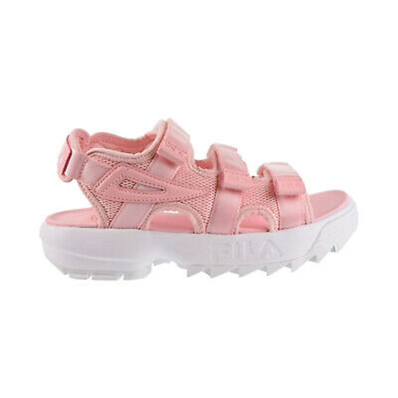 Sandal nữ - Fila Disruptor Womens Sandal Pink-White 5sm00035-661
