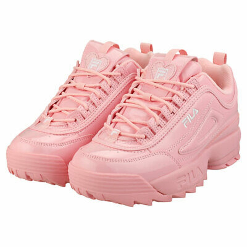 Giày thể thao - Fila Disruptor 2 Heart Womens Pink Synthetic Fashion Trainers