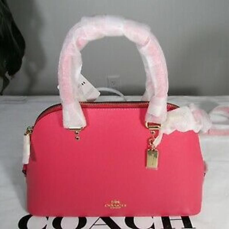 Túi xách NWT Coach Grain Leather Katy Satchel Handbag Crossbody Bag 2553 Bag