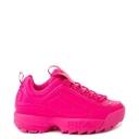 Giày thể thao nữ - NEW Womens Fila Disruptor 2 Athletic Shoe Glow Pink Monochrome
