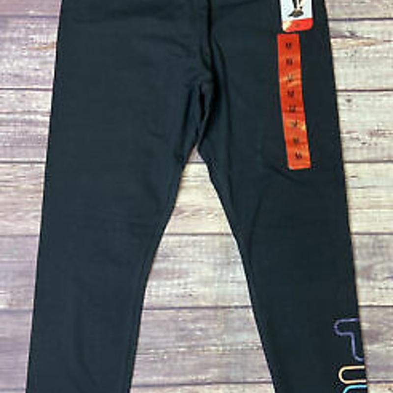 Fila Black Leggings Logo đủ màu sắc Phụ nữ M hoặc L