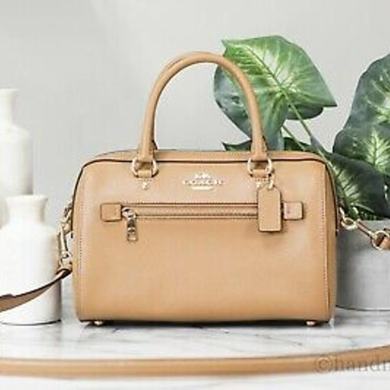 Túi xách Coach F79946 Rowan Light Saddle Leather Medium Satchel Crossbody Handbag Purse