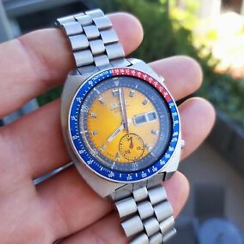 1975 Seiko pogue Watch Skylab 4 Moon Rare NASA 6139 mens Swiss @WatchAdoption