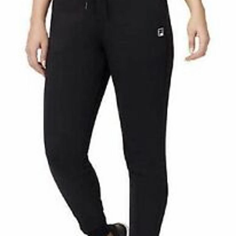 Quần Jogger size M màu đen - New Fila Ladies' Jogger Active Sweatpants Medium M Black