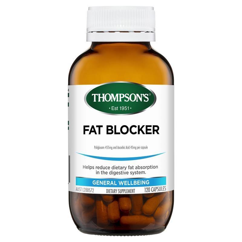 Viên uống giảm mỡ Thompson's Fat Blocker 120 Capsules