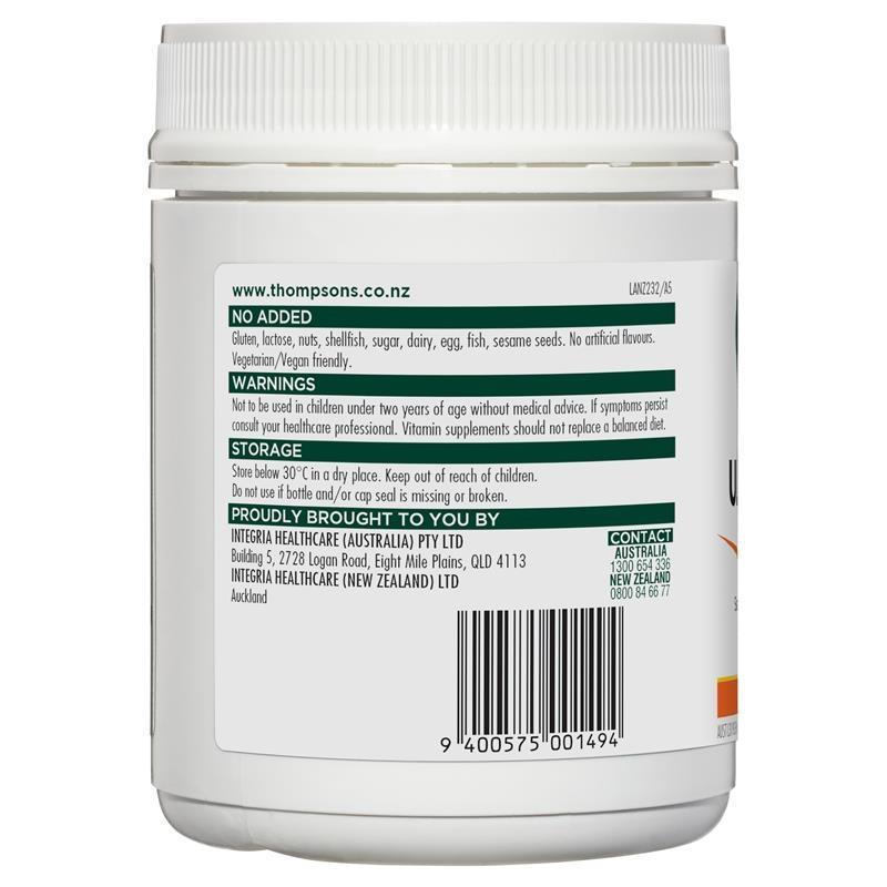 Viên uống bổ sung vitamin C Thompson's Ultra C 1000mg 180 Tablets