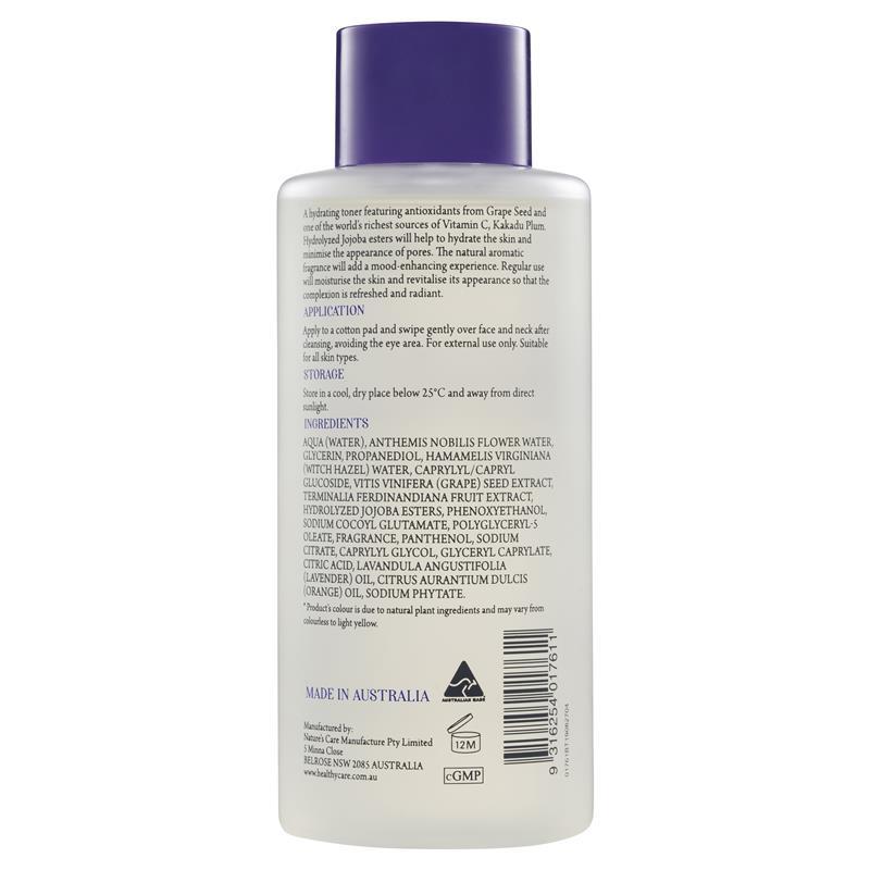 Healthy Care OPC Antioxidant Facial Toner 315ml