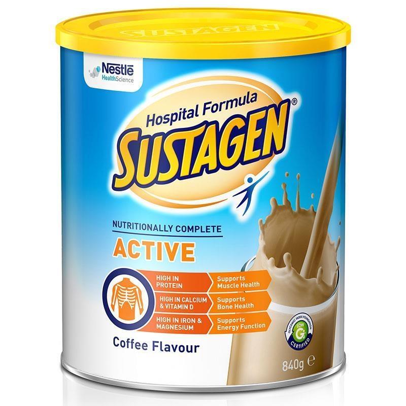 Sustagen Hospital Active 840g Coffee