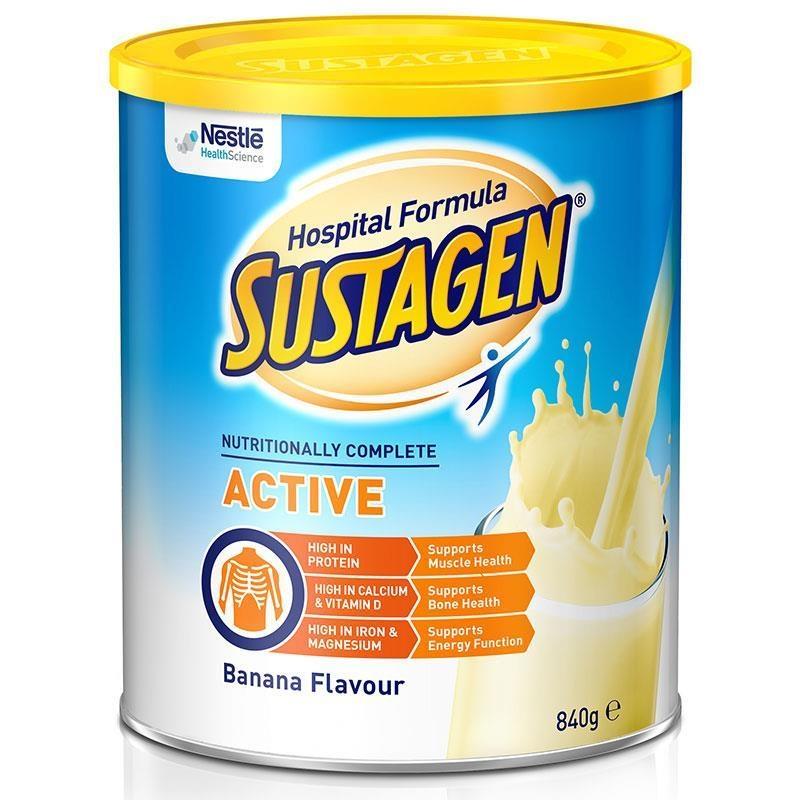 Sustagen Hospital Active 840g Banana