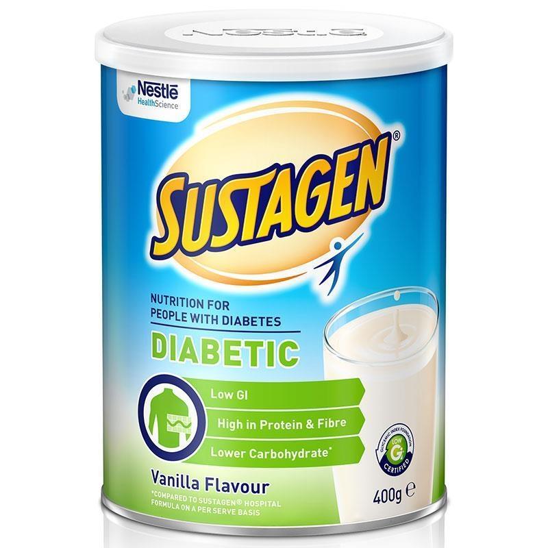 Sữa cho người tiểu đường Sustagen Diabetic 400g