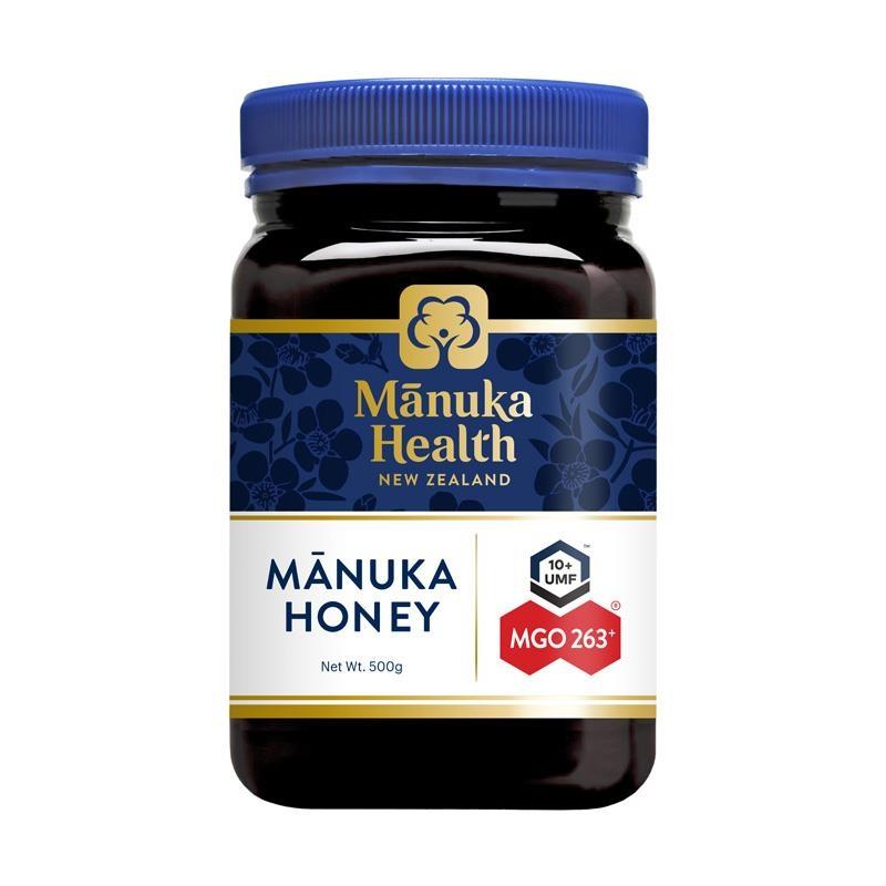 Mật ong - Manuka Health MGO263+ UMF10 Manuka Honey 500g (NOT For sale in WA)