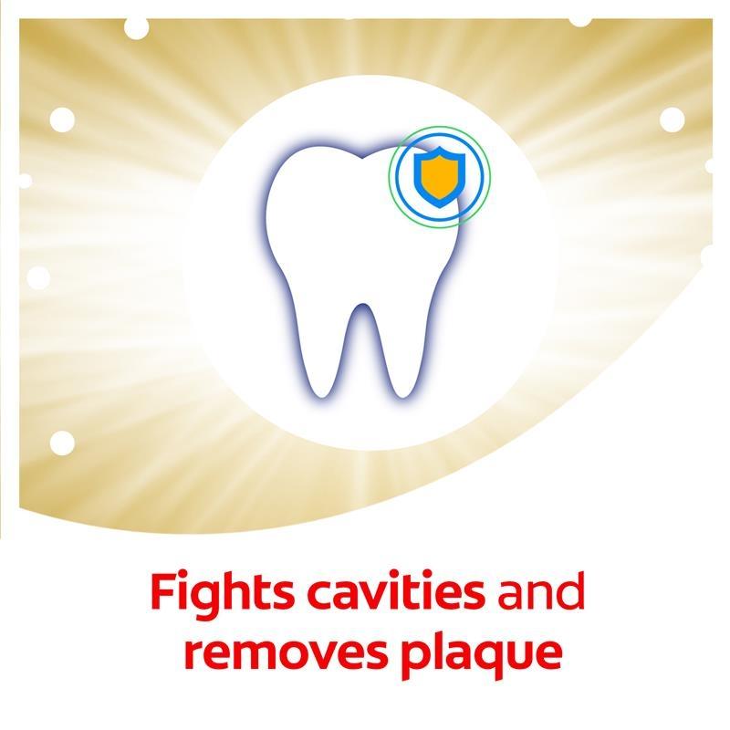 Kem đánh răng Colgate Advanced Whitening Tartar Control Toothpaste với các tinh thể làm sạch siêu nhỏ 190g