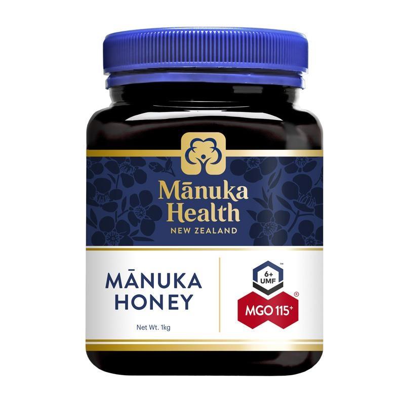 Mật ong - Manuka Health MGO115+ UMF6 Manuka Honey 1kg (NOT For sale in WA)