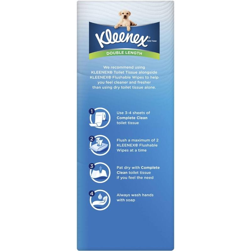 Khăn giấy Kleenex Toilet Tissue Double Length 12 pack