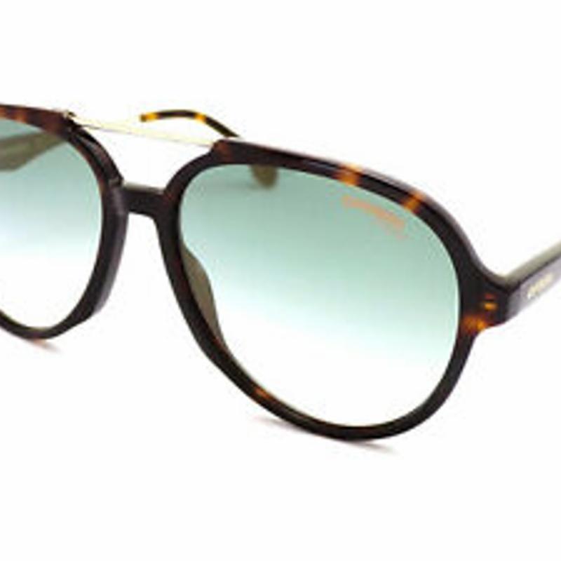 Kính mát Carrera 1012/S Sunglasses Dark Brown Havana / Green Gradient 086