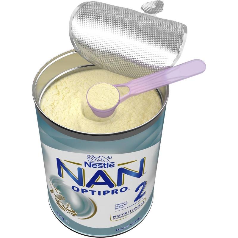 Nestle Nan Optipro 2 Follow-on 6-12 Months Baby Formula Powder 800g