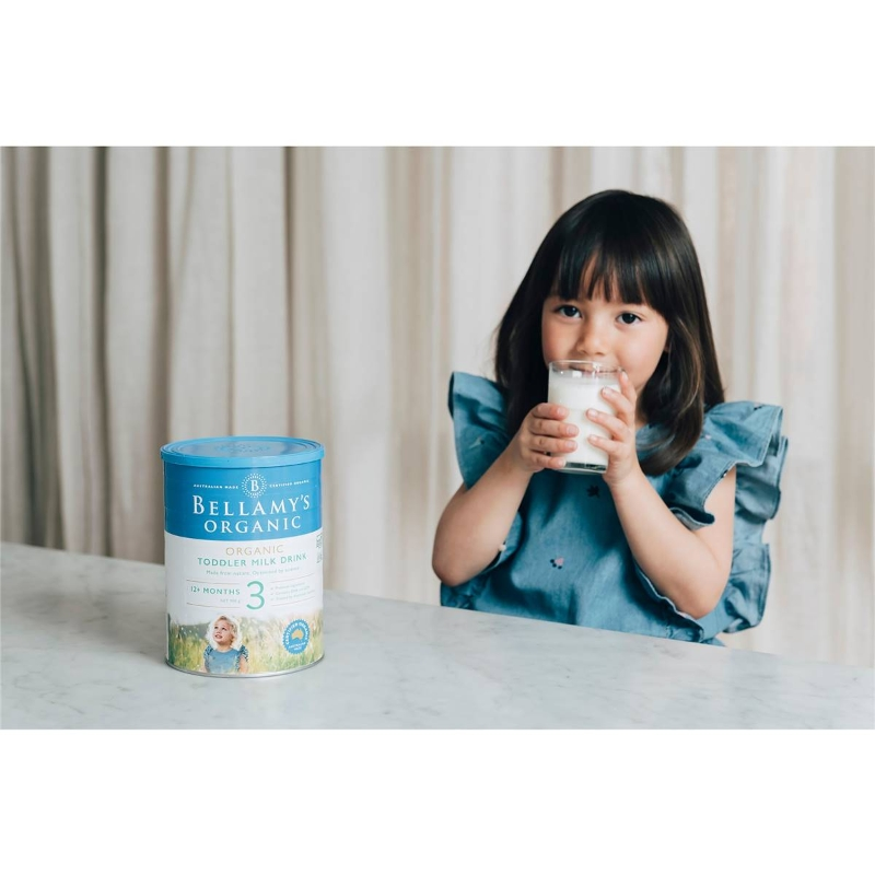 Bellamy's Organic Toddler Baby Formula Stage 3 900g