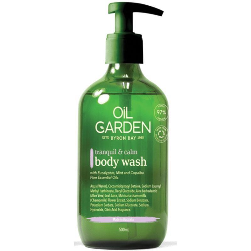 Oil Garden Tranquil & Calm Body Wash 500ml