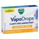 Viên ngậm Vicks VapoDrops + Anti-Inflammatory Honey Menthol 16 Lozenges