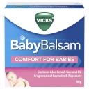 Vicks Baby Balsam Decongestant Chest Rub 50g