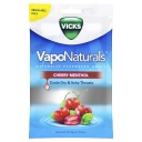 Viên ngậm Vicks VapoNaturals Cherry Menthol Throat Lozenges 19 Drops Resealable Bag