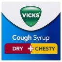 Siro ho Vicks Cough Syrup Dry + Chesty 200ml