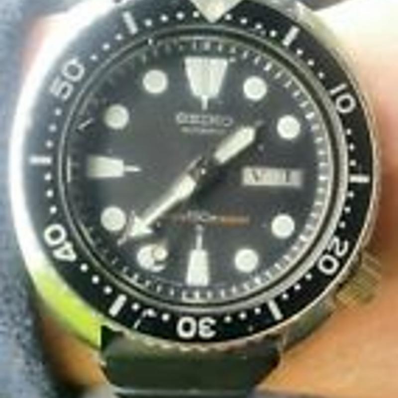 Vintage Seiko 6309-7040 divers watch