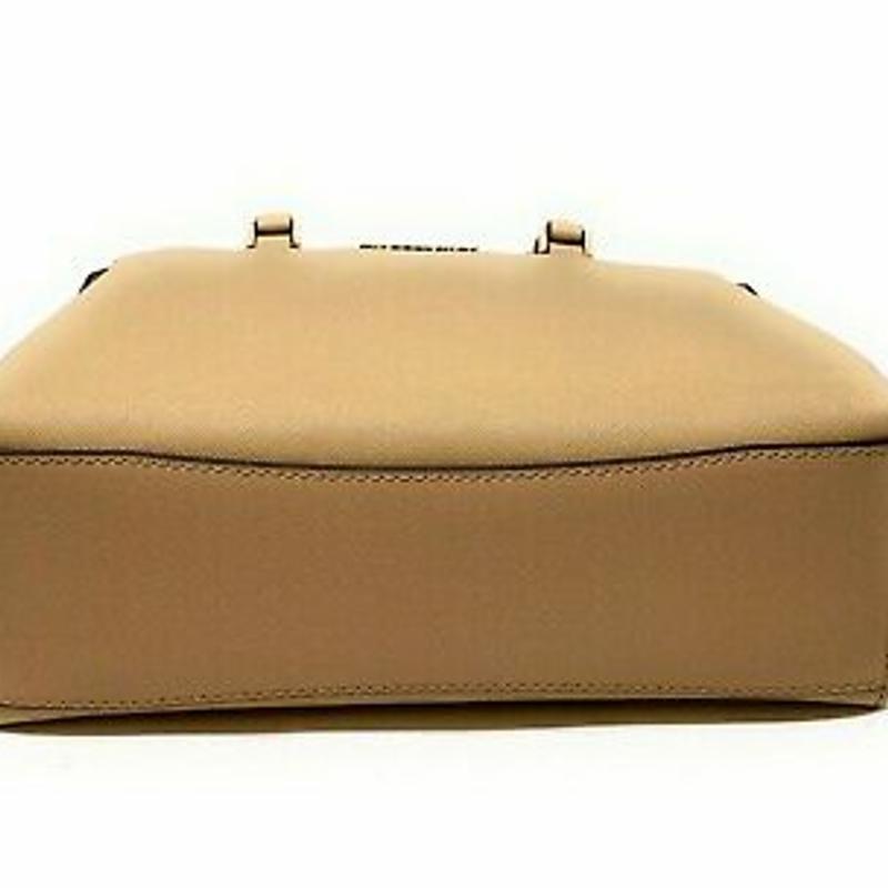 Túi đeo chéo - Michael Kors Idina Small Satchel Bag Saffiano Leather