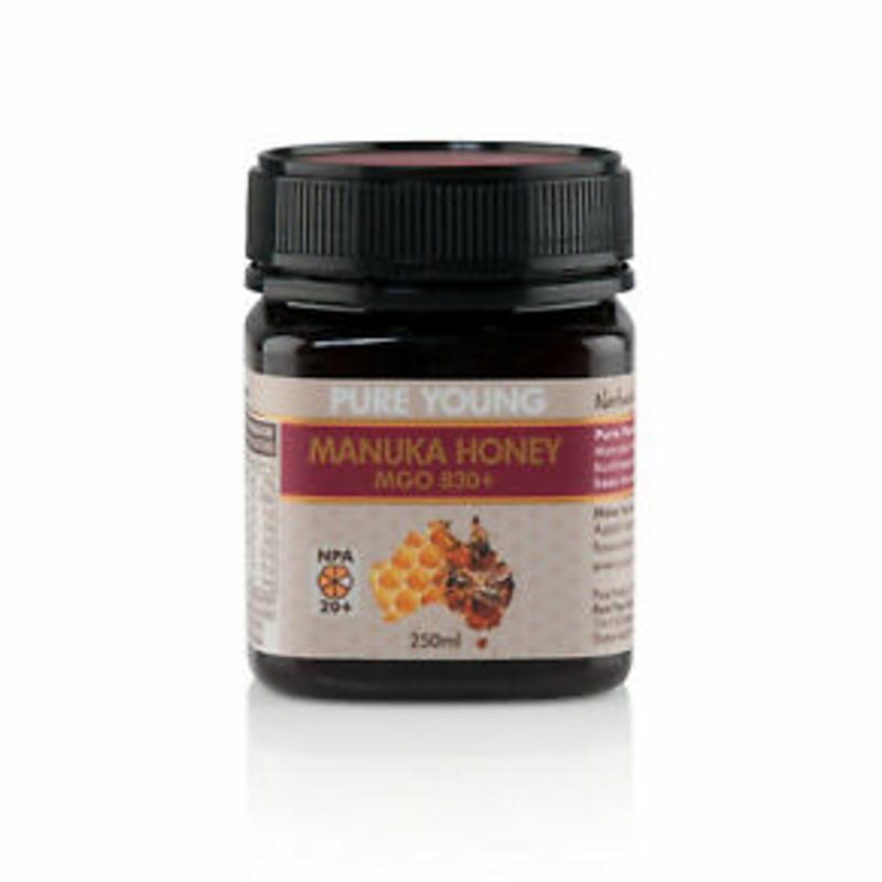 Mật ong - Manuka Honey- Pure Young MGO830+ NPA 20+ 250gm 100% Pure Australian Honey