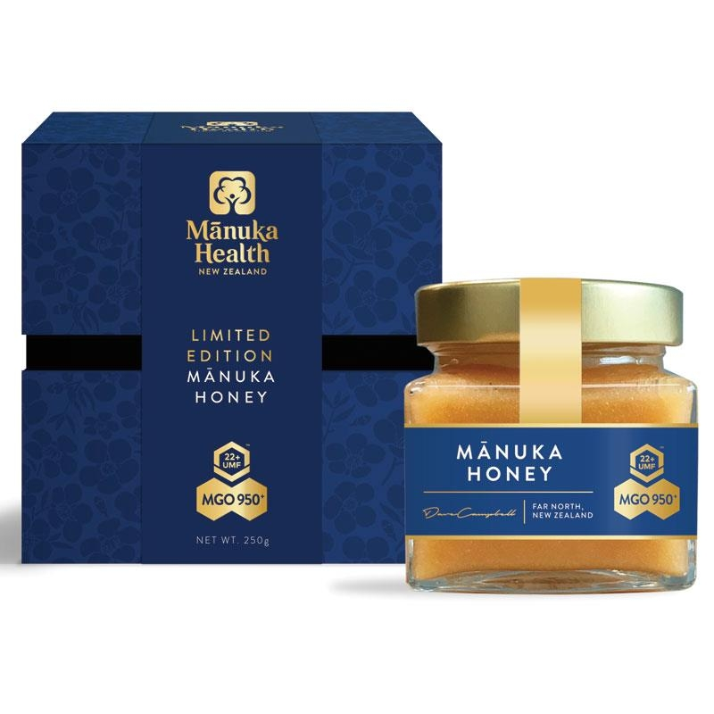 Mật ong - Manuka Health MGO 950+ Manuka Honey 250g Glass (Not Sold in WA) Online Only