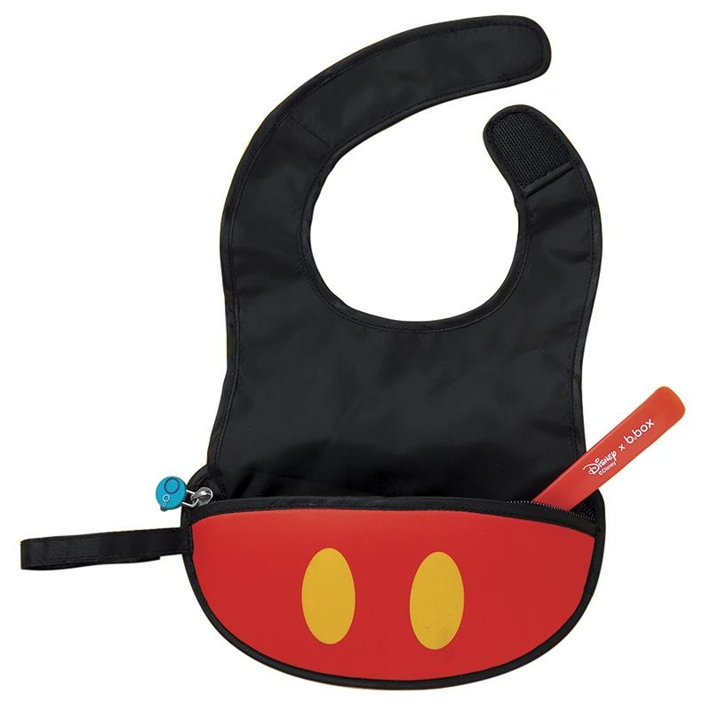Yếm ăn dặm b.box Travel Bib Disney Mickey