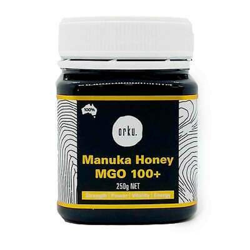 Mật ong - 250g MGO 100+ Australian Manuka Honey 100% Raw Natural Pure Jelly Bush