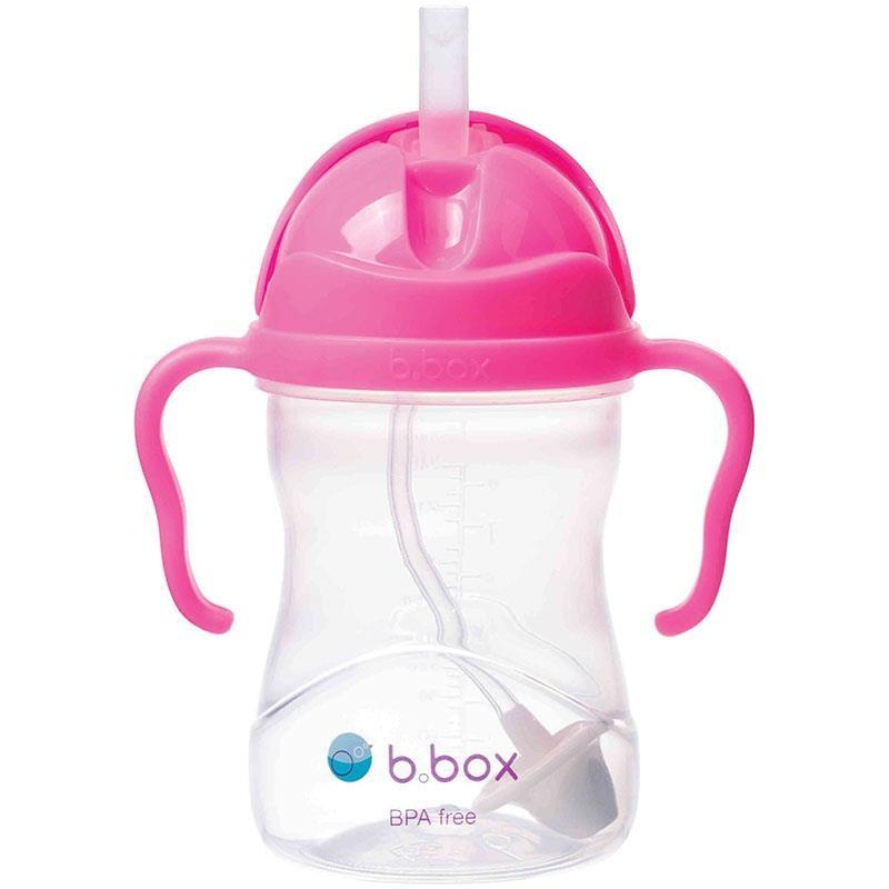 b.box Sippy Cup Pink Pomegranate 240ml