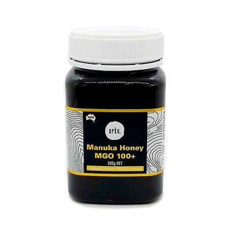 Mật ong - 500g MGO 100+ Australian Manuka Honey 100% Raw Natural Pure Jelly Bush