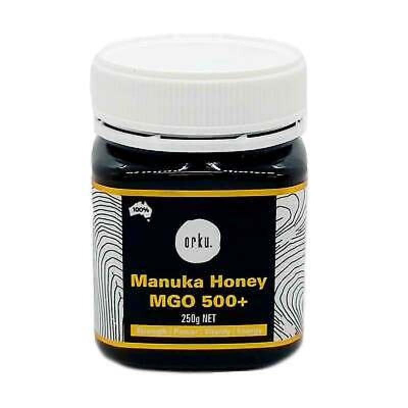 Mật ong - 250g MGO 500+ Australian Manuka Honey 100% Raw Natural Pure Jelly Bush