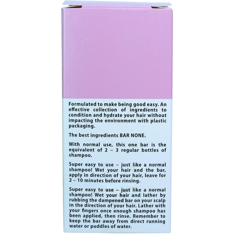 Dầu gội Bar None Hydrating Shampoo Bar 100g