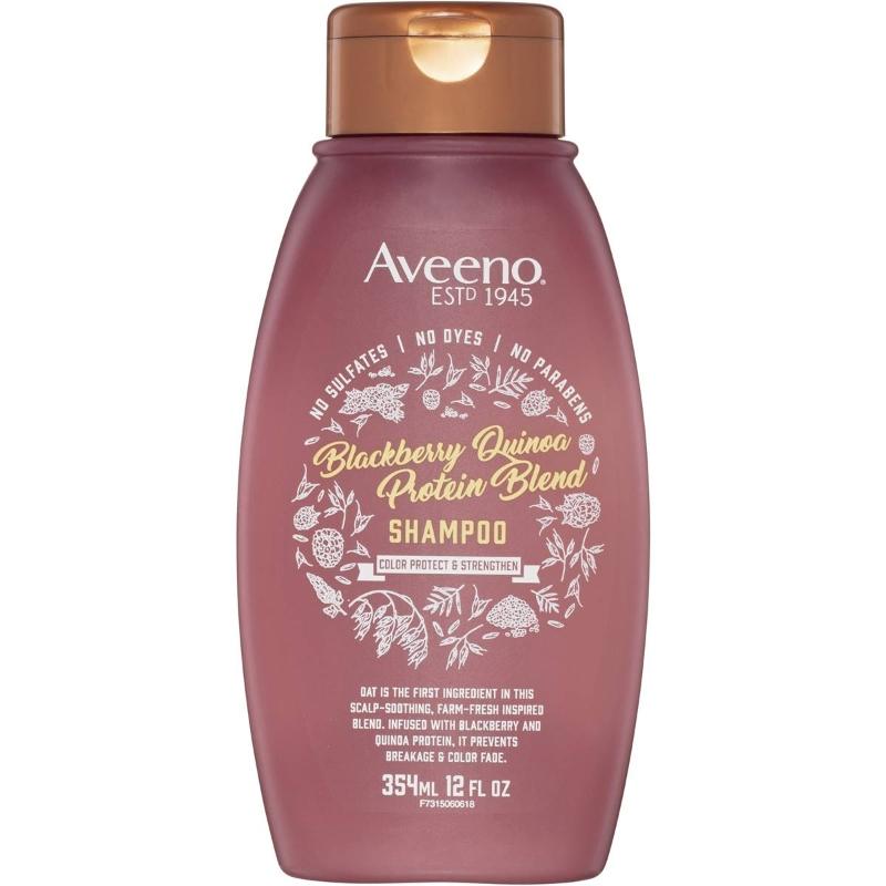 Dầu gội Aveeno Blackberry Quinoa Protein Blend Shampoo 354ml