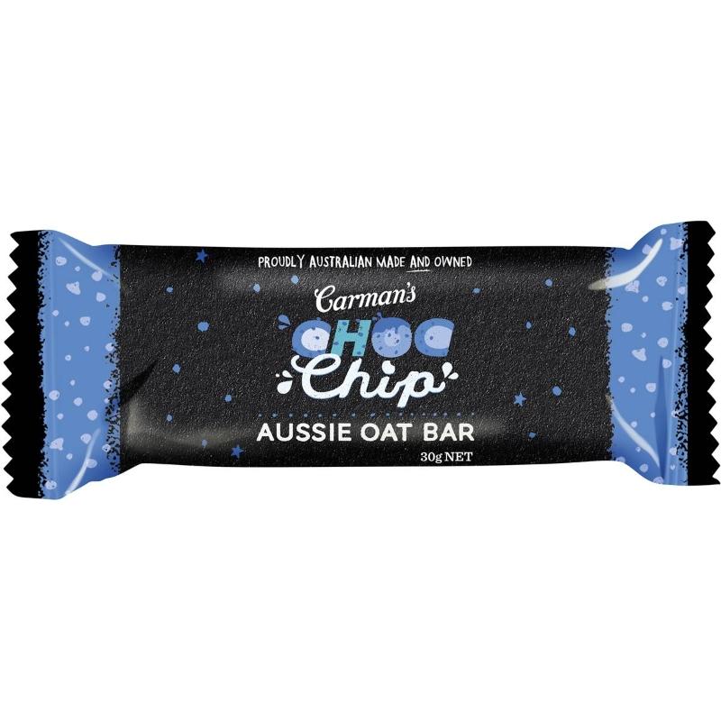 Carman's Aussie Oat Choc Chip Bars 6 pack
