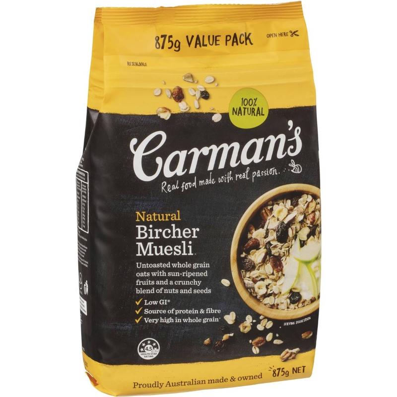 Carman's Muesli Natural 875g