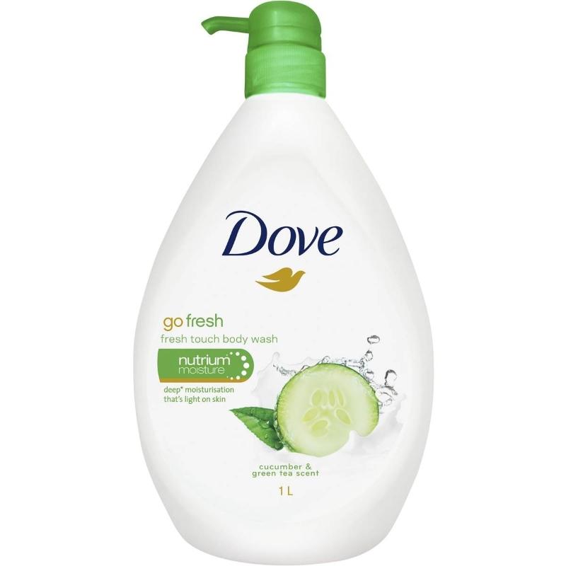 Sữa tắm Dove Go Fresh Body Wash Fresh Touch 1l