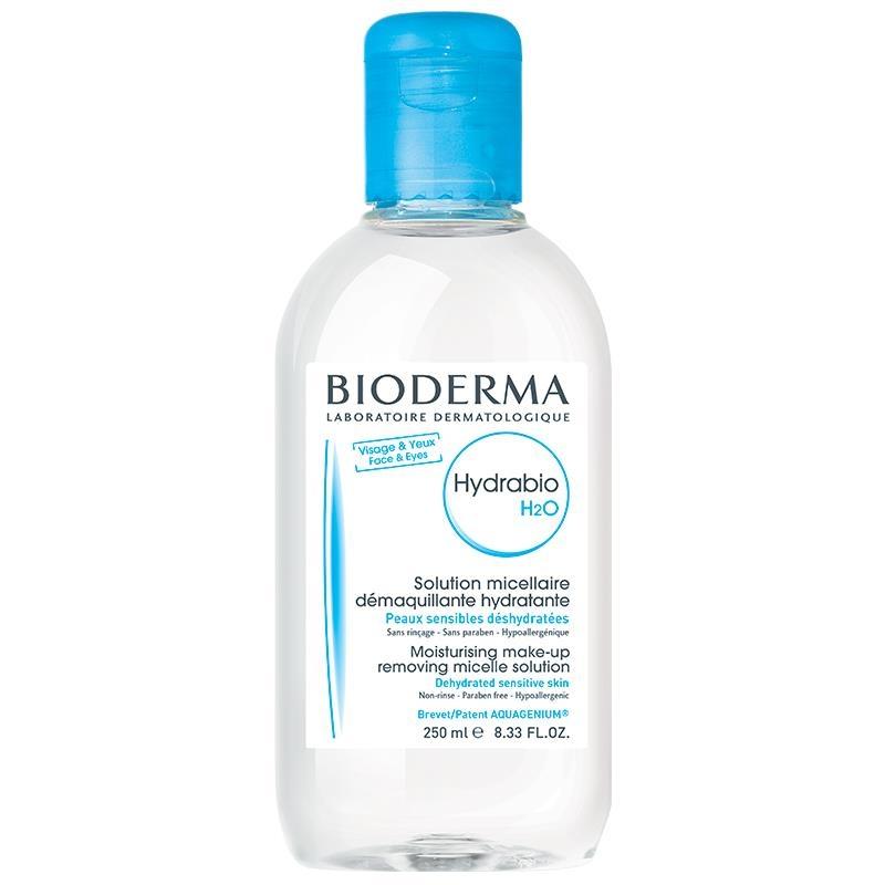 Nước tẩy trang Bioderma Hydrabio H2O Moisturising Make Up Removing Micellaire Solution 250ml