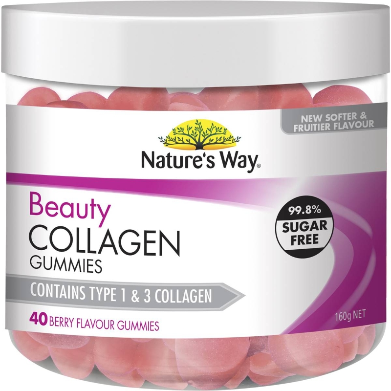 Nature's Way Beauty Collagen Gummies 40 pack