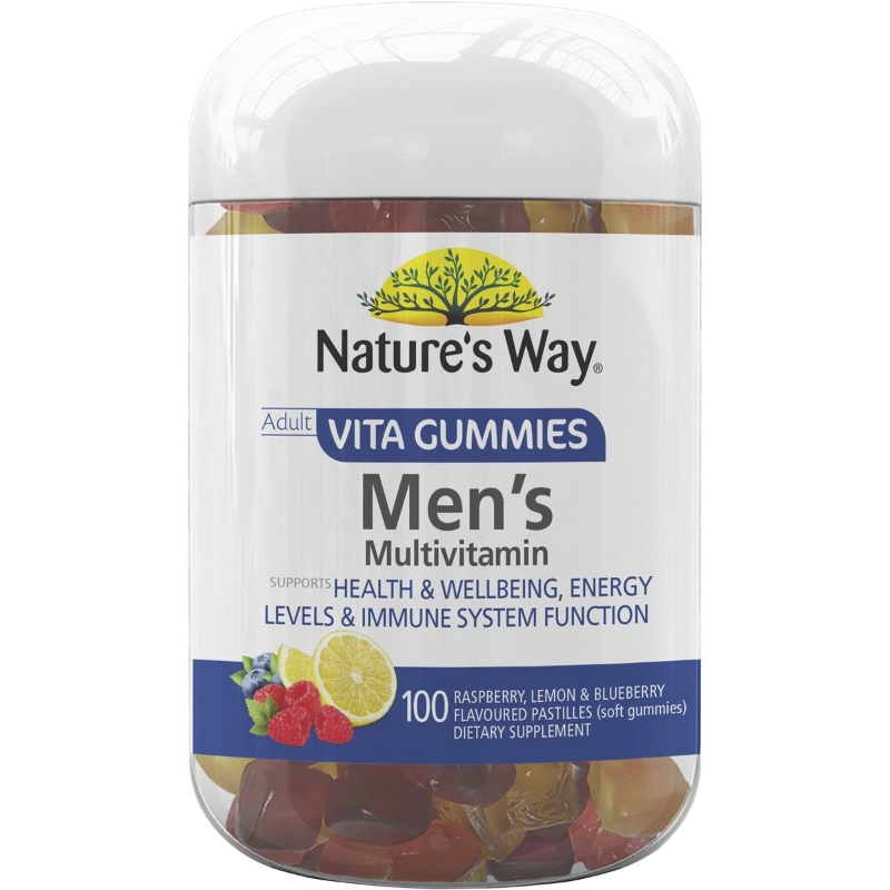 Nature's Way Vitagummies Mens Multivitamin 100 pack