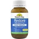 Nature's Way Restore Probiotic Daily Health & Prebiotic 90 pack