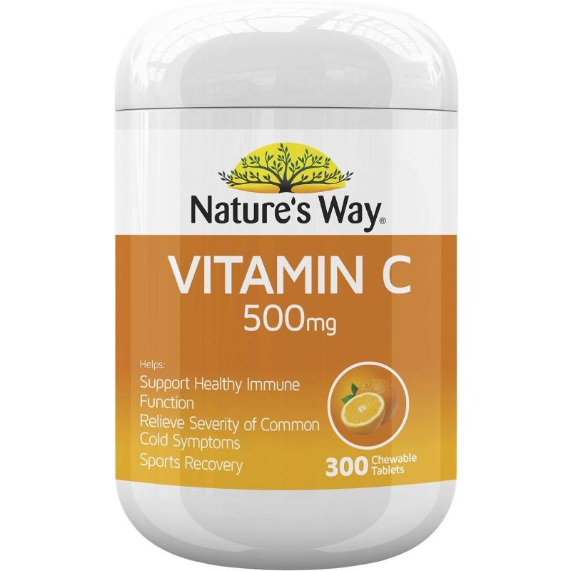 Nature's Way Vitamin C Orange 500mg 300 pack