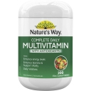 Nature's Way Complete Daily Multivitamin Tablets 200 pack