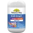 Nature's Way Kids Omega-3 Fish Oil Smart Trio 60 capsules