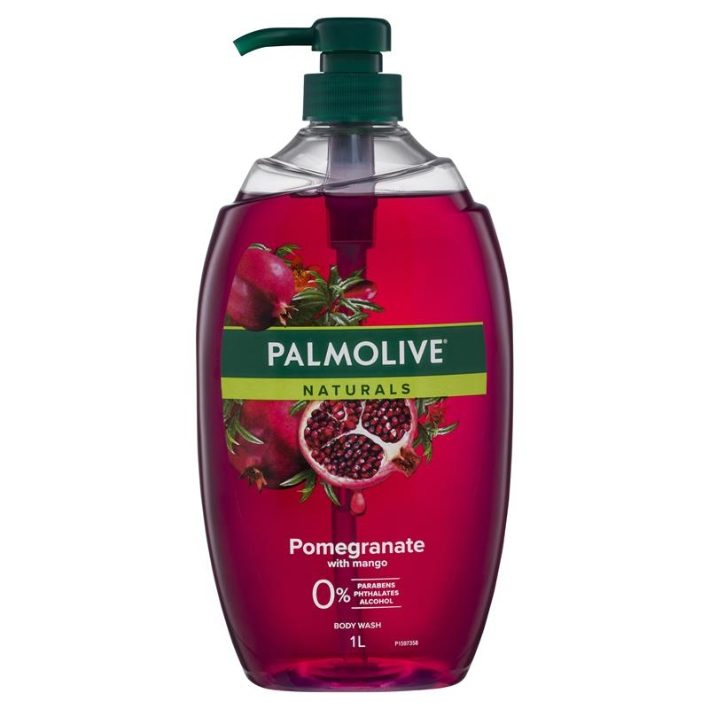 Palmolive Naturals Body Wash Pomegranate with Mango Shower Gel 1L