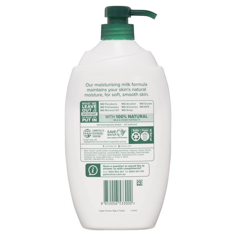 Palmolive Naturals Body Wash Milk & Honey Shower Gel 1L